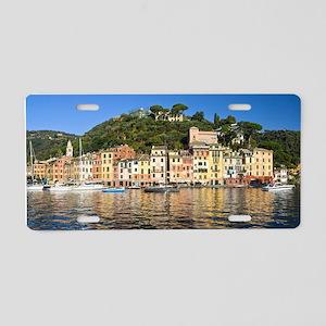 Portofino, Italy Aluminum License Plate