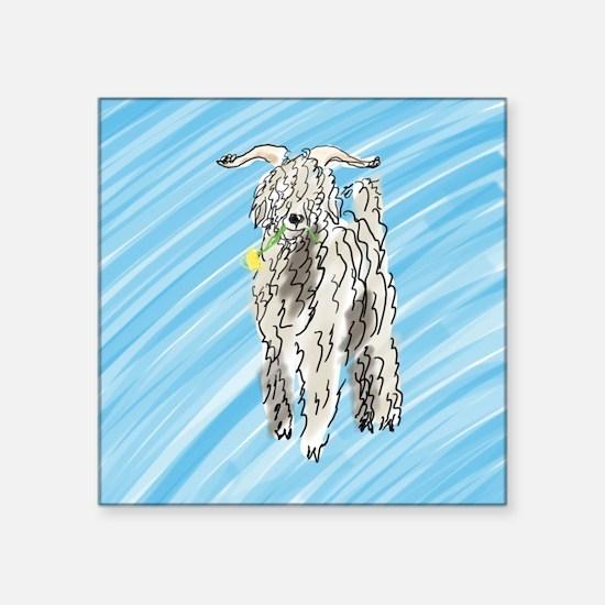"goat big Square Sticker 3"" x 3"""