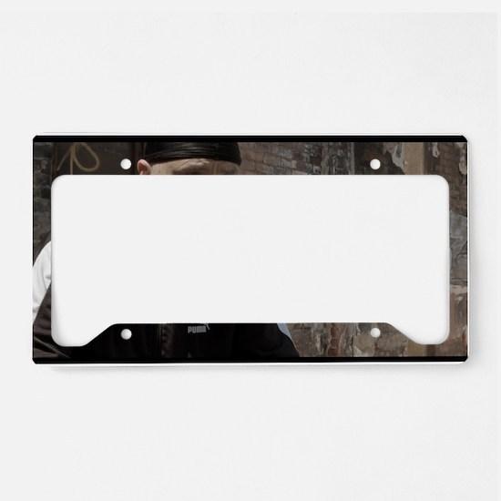 Quinn Movie License Plate Holder