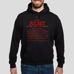 Juliet (red) Hoodie (dark)