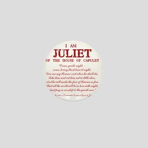 Juliet (red) Mini Button