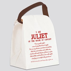 Juliet (red) Canvas Lunch Bag