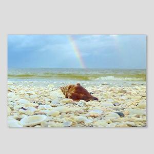 Sanibel Seashells Under T Postcards (Package of 8)