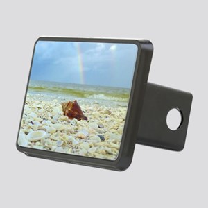 Sanibel Seashells Under Th Rectangular Hitch Cover
