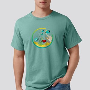 TROPICAL FISH Mens Comfort Colors Shirt