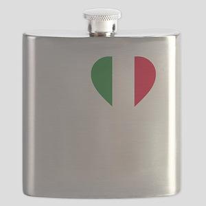Italian Boston Strong Flask