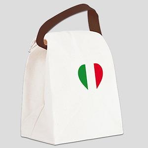 Italian Boston Strong Canvas Lunch Bag