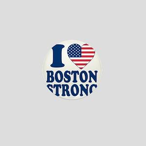 I love boston strong Mini Button