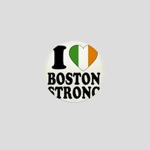 i love boston a Mini Button
