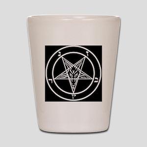 Baphomet Pentagram Shot Glass