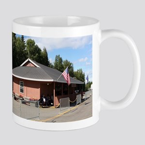 Talkeetna Railway Station, Alaska Mugs