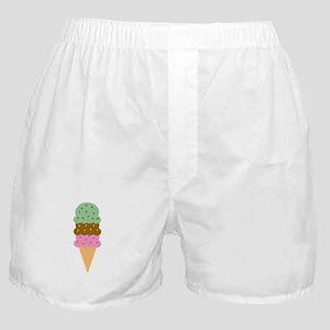 Ice Cream Cone Boxer Shorts