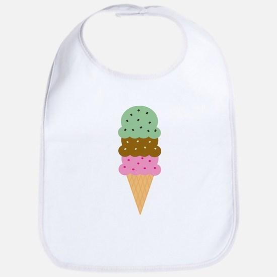 Ice Cream Cone Bib