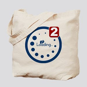 Baby Loading , Twin Notification Tote Bag