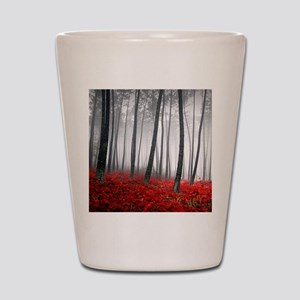 Winter Forest Shot Glass