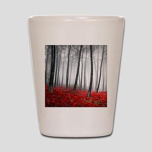 Winter Forest Shot Glass