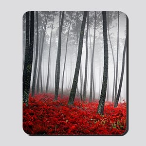 Winter Forest Mousepad