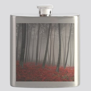 Winter Forest Flask
