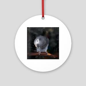 Timneh Africn Grey Round Ornament