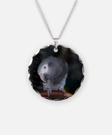 Timneh Africn Grey Necklace