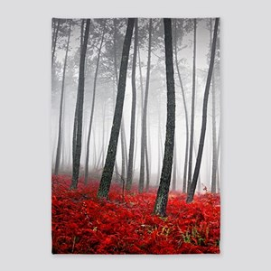 Winter Forest 5'x7'Area Rug
