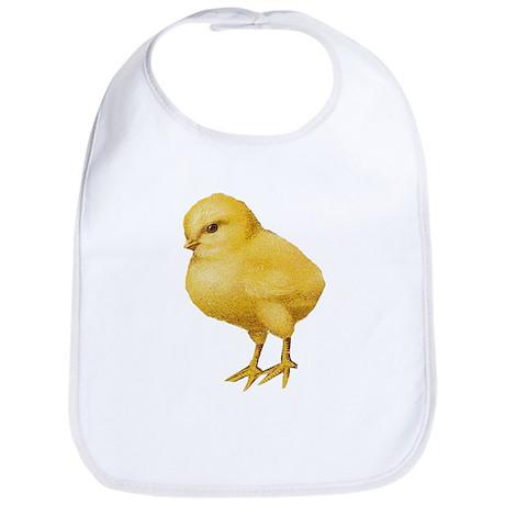 Vintage Easter Chick Bib