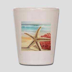 Summer Beach Shot Glass