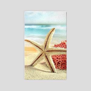 Summer Beach 3'x5' Area Rug