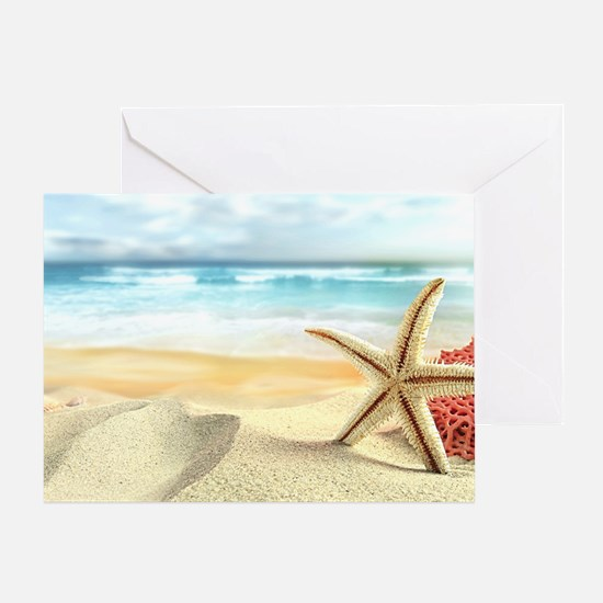 Summer Beach Greeting Card