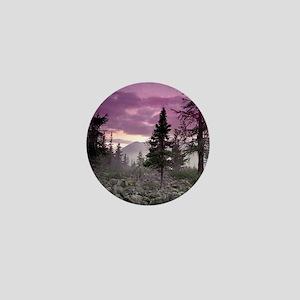 Beautiful Forest Landscape Mini Button
