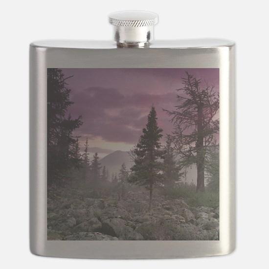 Beautiful Forest Landscape Flask