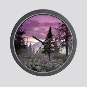 Beautiful Forest Landscape Wall Clock