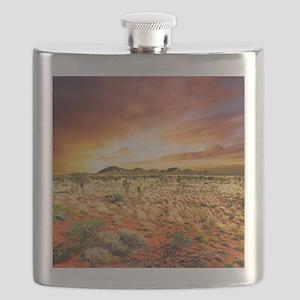 Australian Sunset Flask