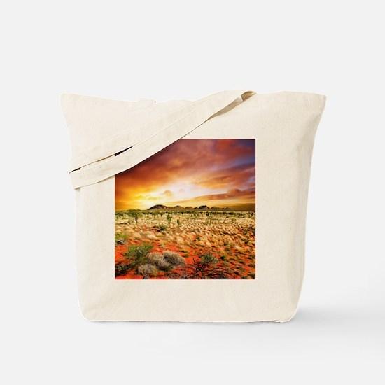 Australian Sunset Tote Bag