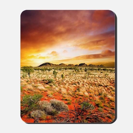 Australian Sunset Mousepad