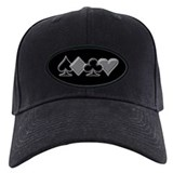Poker Baseball Cap with Patch