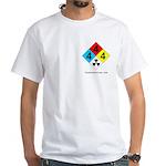Radioactive White T-Shirt