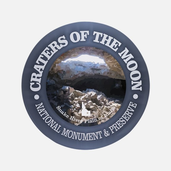 """Craters of the Moon 3.5"""" Button"""