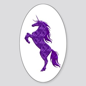 Purple Unicorn Sticker