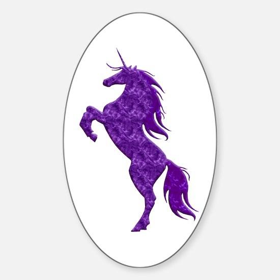 Purple Unicorn Decal