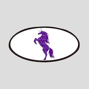 Purple Unicorn Patches
