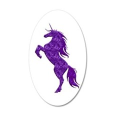 Purple Unicorn Wall Decal
