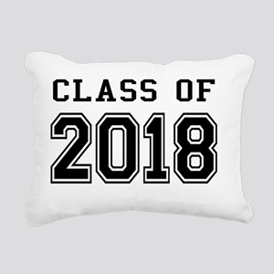 Class of 2018 Rectangular Canvas Pillow