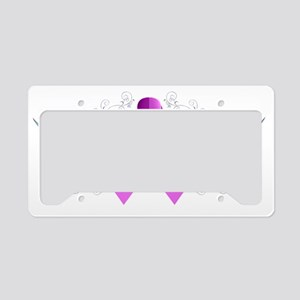 Breast Cancer Wings of Hope License Plate Holder