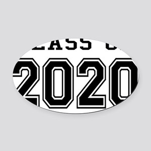 Class of 2020 Oval Car Magnet