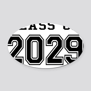 Class of 2029 Oval Car Magnet