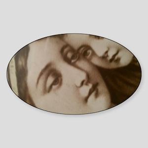 Modest Mary Sticker (Oval)