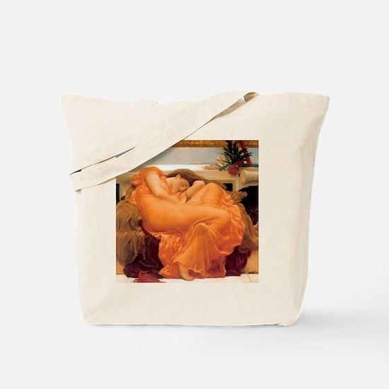 Flaming June-Full Size Tote Bag