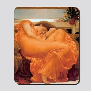 Flaming June-Full Size Mousepad