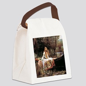 The Lady Of Shallot - 1- 18x13.69 Canvas Lunch Bag